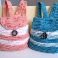 Crocheting: Toddler Backpack - Colly & Polly