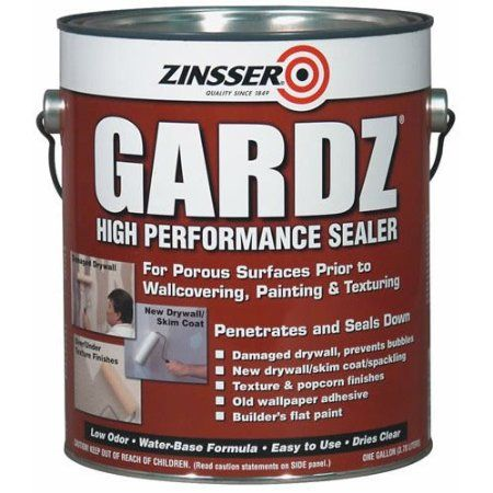 Amazon Com Gardz Drywall Sealer 1 Gal Patio Lawn Garden 28 Wall Sealer Sealer Drywall