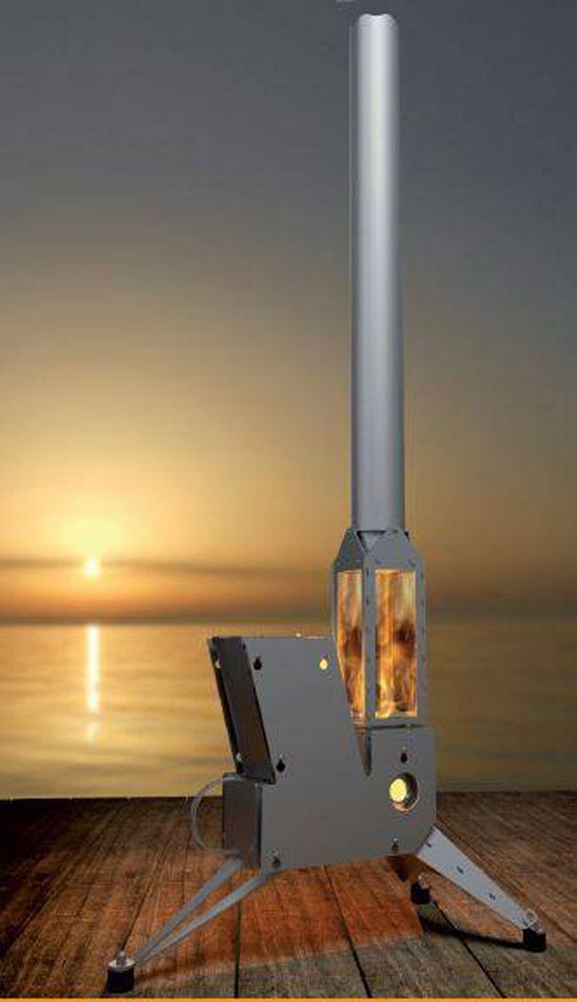 Stumble Upon This Facebook Post Showing This Modular Rocket Stove