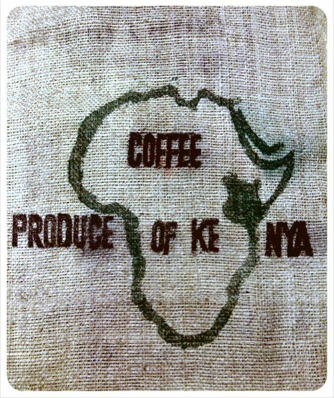 kenya coffee bag
