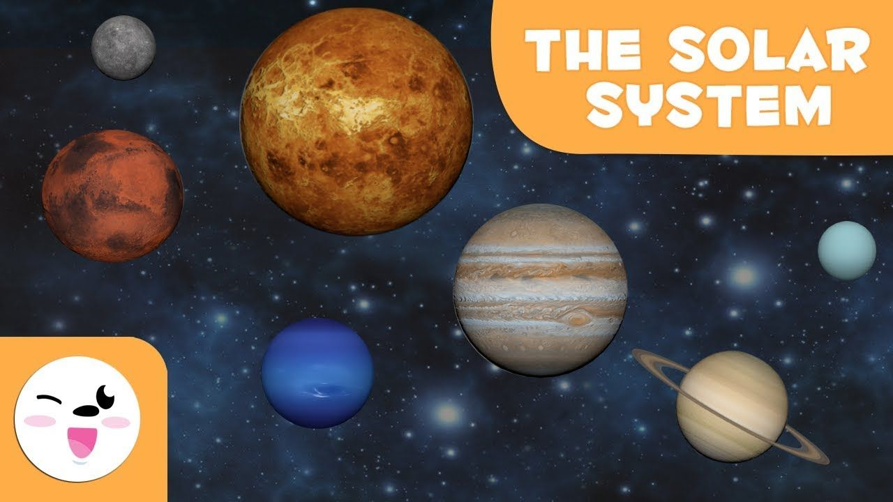 The Solar System 3d Animation For Kids Educational Video In 2020 Sistema Solar Educational Videos Solar System