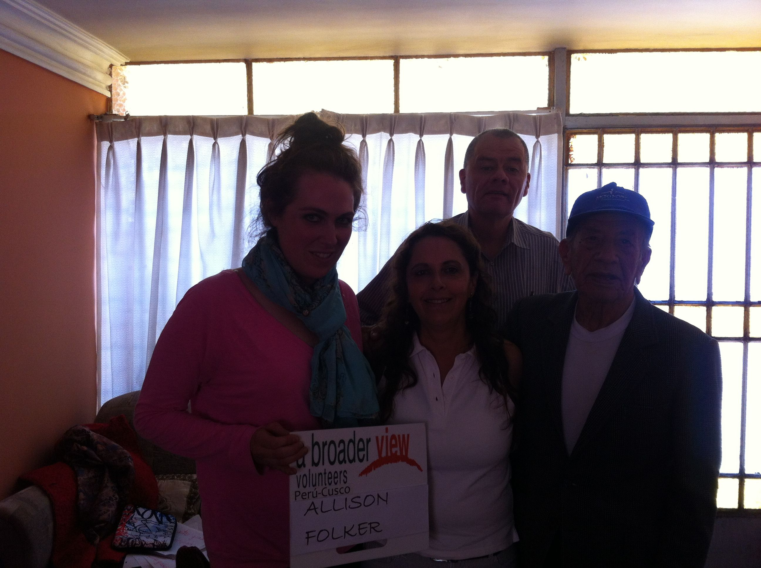 Volunteer Allison Folker Peru Cusco Health Care & Spanish Immersion 4 weeks Program https://www.abroaderview.org