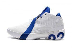 e13ddb38f5e275 Mens Air Jordan Ultra Fly 3 White Royal Blue Boys Basketball Shoes ...