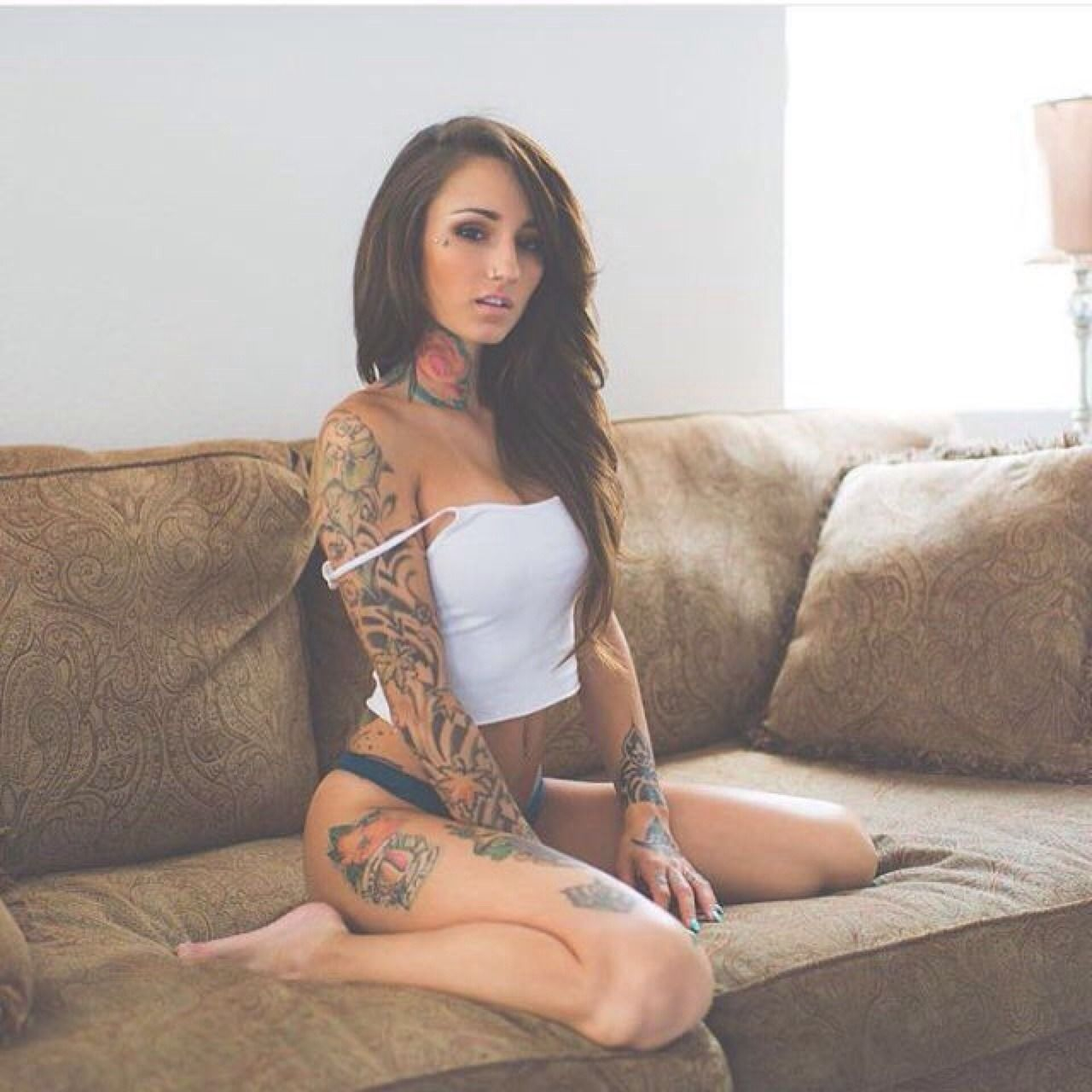 Tattoed sexy girls