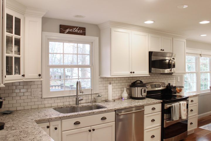 Stratmore in Marshmallow Cream on Maple | Kitchen remodel ...