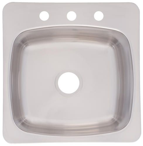 Franke 20 X20 Drop In 20 Gauge Laundry Utility Sink At Menards Pretty Sure This Is Our Sink Laundry Sink Topmount Sink Single Bowl Kitchen Sink