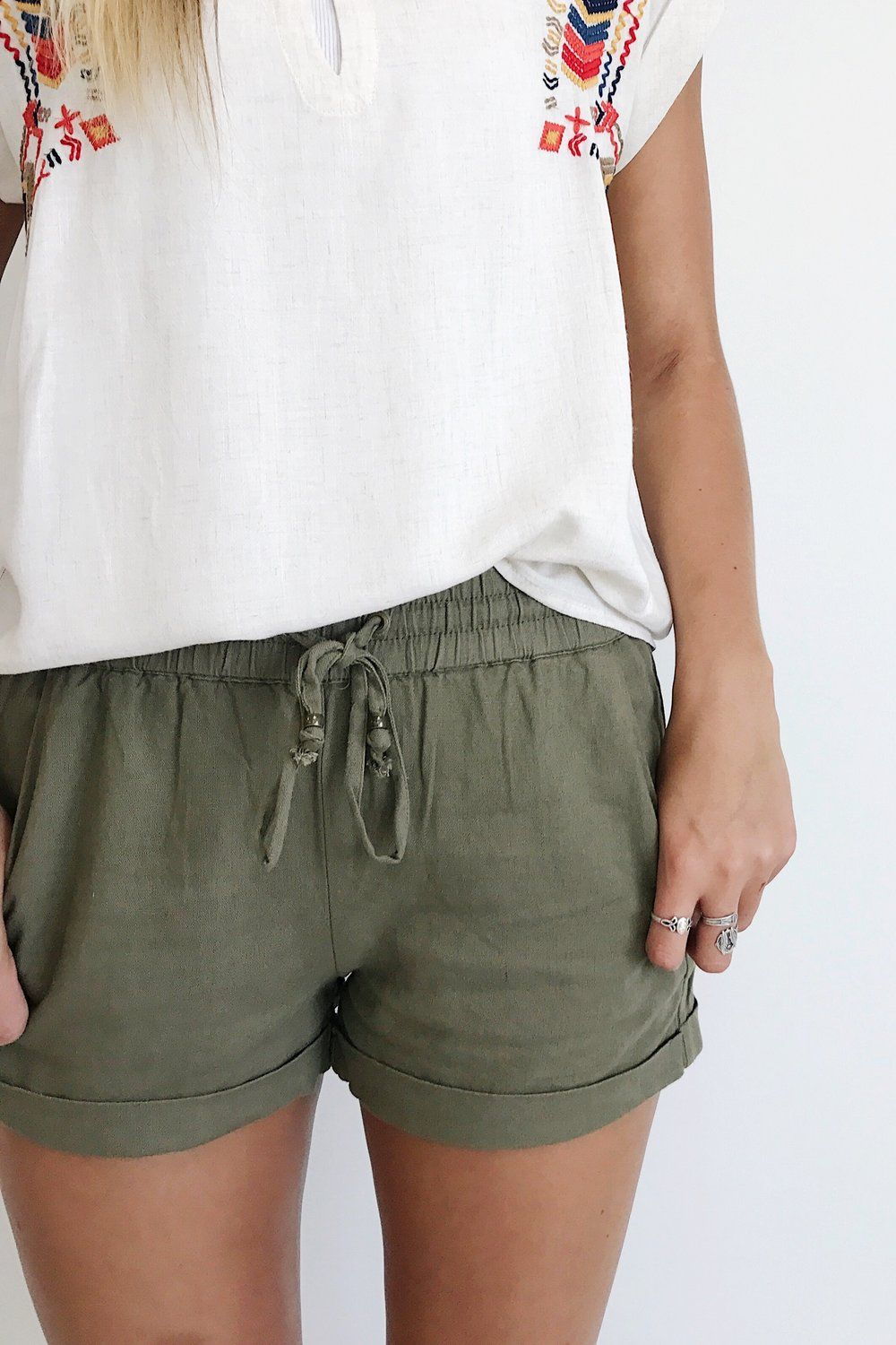 Imgg iud wear that pinterest clothes linen shorts and