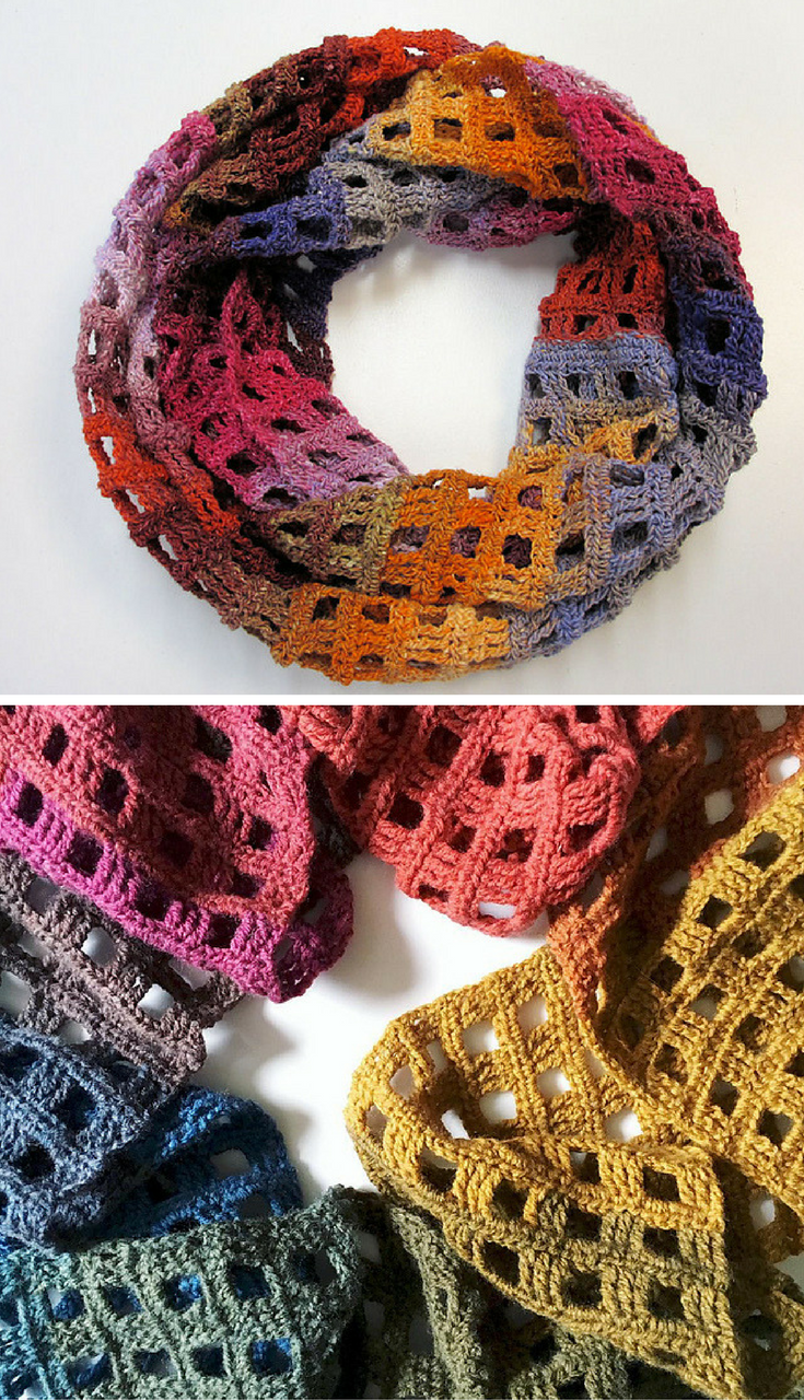 Free Crochet Pattern] Simple But Beautiful Crochet Scarf Pattern ...
