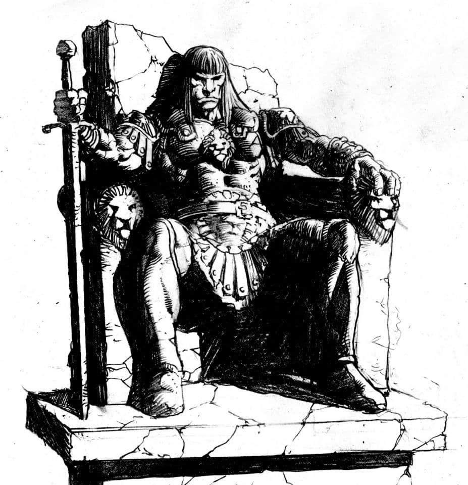 Pin by Ronald Warnik on Conan the Barbarian | Comic art