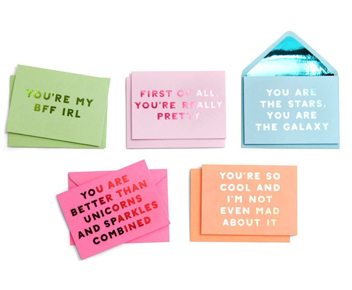 Compliment card set compliment cards greeting card set