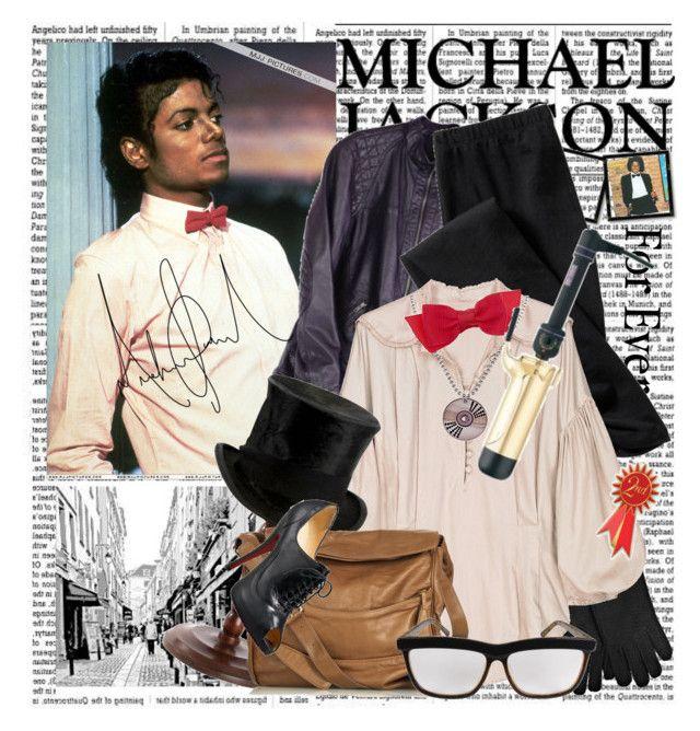"""Michael Jackson: For Ever"" by emilyliz ❤ liked on Polyvore featuring Yves Saint Laurent, Katzi, Old Navy, Lover, Retrò, Dorothy Perkins, Vanessa Bruno, Ksubi, Christian Louboutin and Hot Tools"