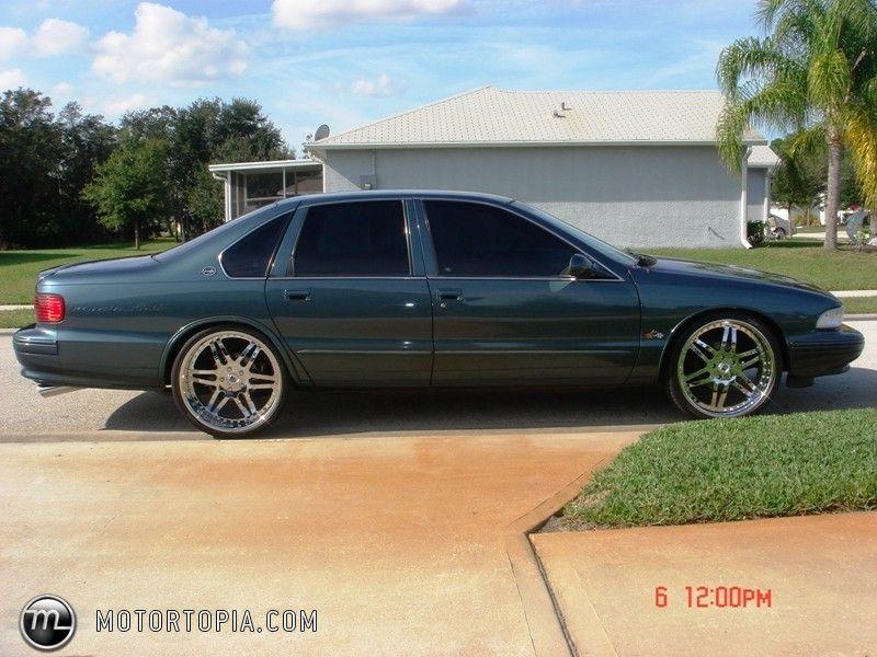 96 Impala SS custom asanti wheels 6 spoke af116 | Wheels