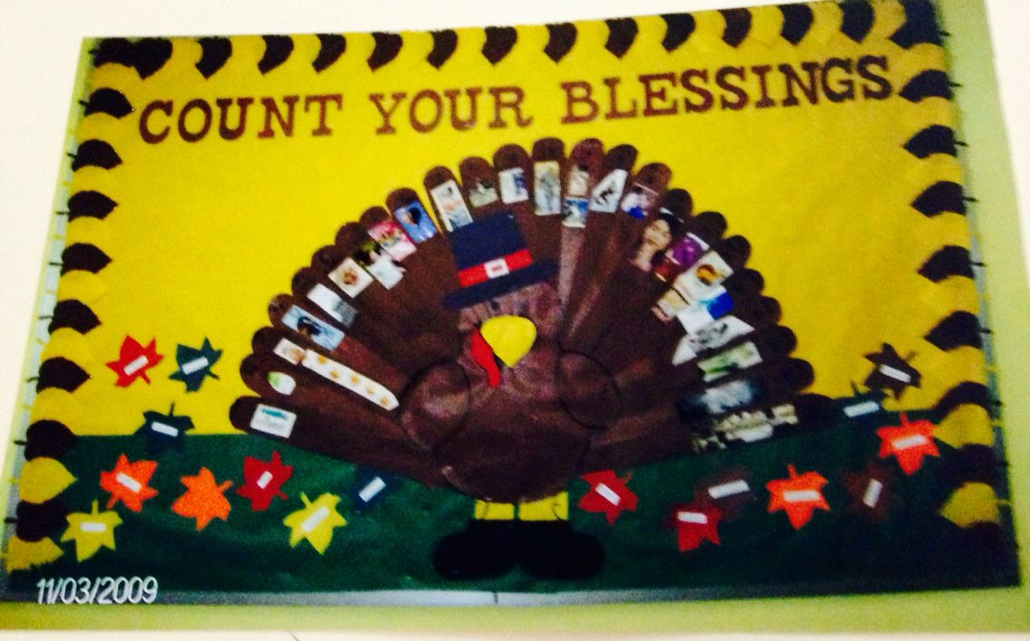count your blessings thanksgiving turkey bulletin board nov 2009count your blessings thanksgiving turkey bulletin board nov 2009