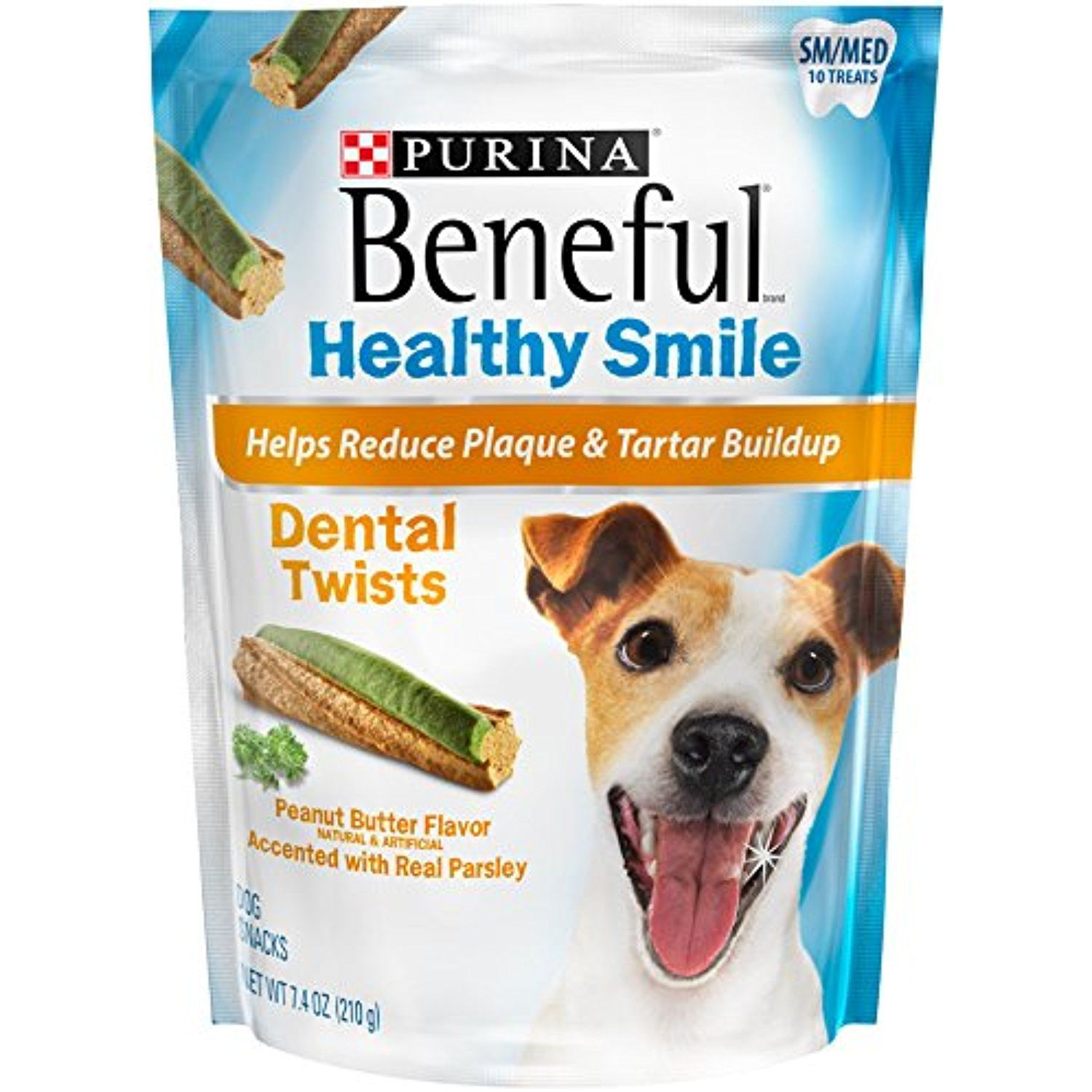 Beneful Healthy Smile Dental Dog Snacks Small Medium Twists 7 4