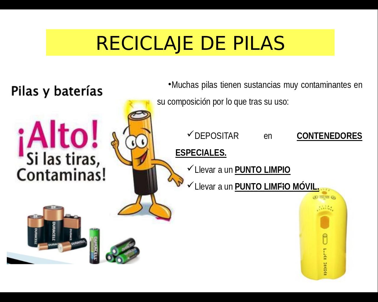 Pin De Paloma Coma En Depende De Nosotros Pilas Y Baterias Contaminantes Contenedores