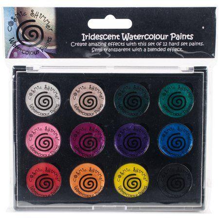 Cosmic Shimmer Iridescent Watercolor Palette Set 2 Carnival