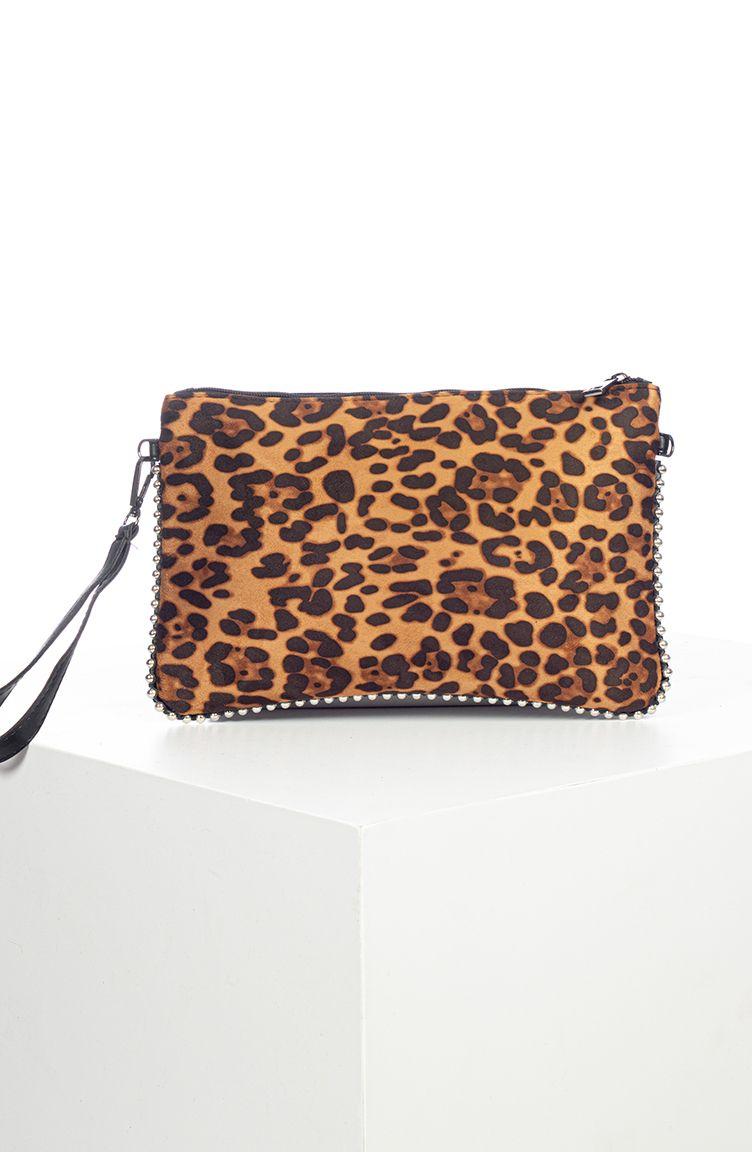 Photo of Long Strap Women Portfolio Bag – Leopard