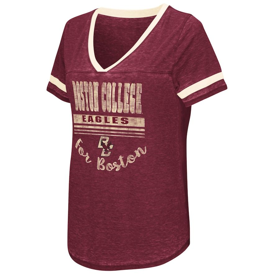d876c7000 Women s Campus Heritage Boston College Eagles Gunther Jersey Tee ...