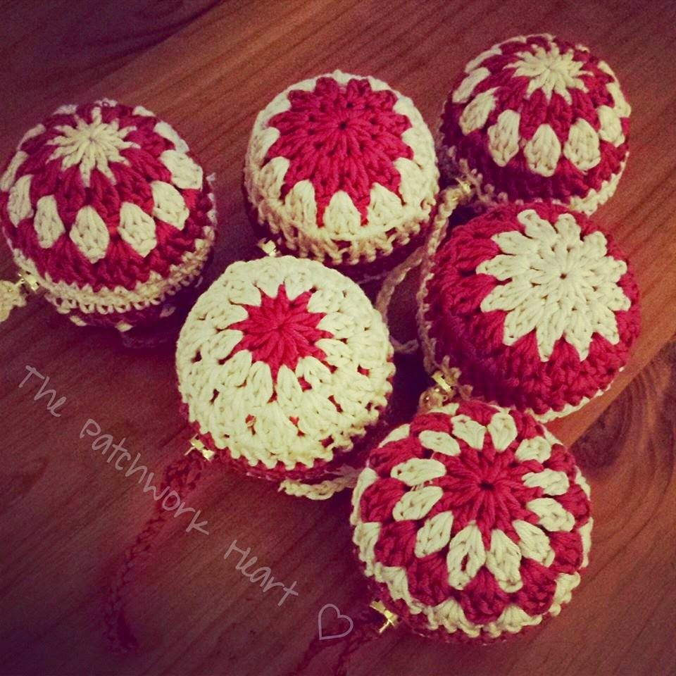The Patchwork Heart: Christmas Baubles | Шарики | Pinterest ...