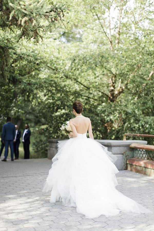 Wedding Dress Ideas Designers Inspiration Elegant Open Back Ballgown Www Stylemepretty Photography Cly By Matthew Clybymatthew