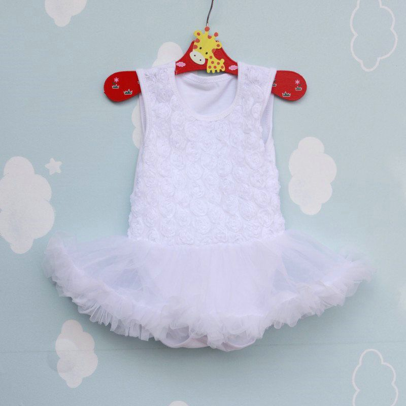 Infant Rose Design Lace Sleeveless Vest Rompers Dress Baby Girls Clothes Childrens Cotton Clothing https://t.co/B3XAW1yWy9