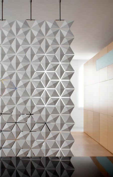 Cloison amovible design... | Cloisons, Ouverture et Nuances