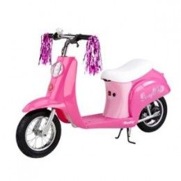 Kids Pink Razor Moped With Images Razor Pocket Mod Girls