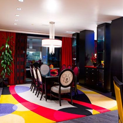 Mickey Mouse Penthouse: Dining Room