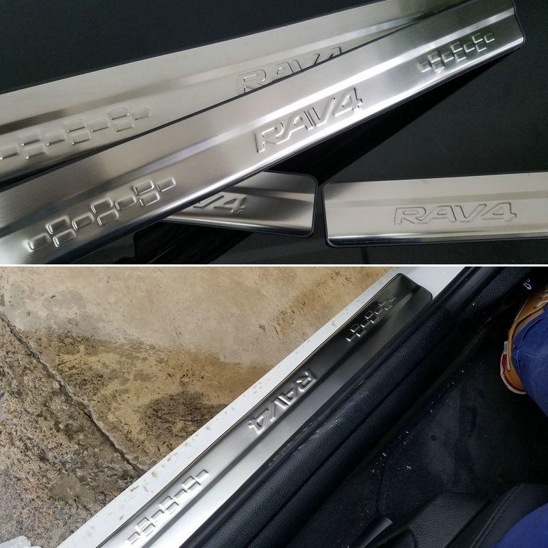 Stainless Steel Door Sill Scuff Plate For Suzuki Vitara 4Gen 2016