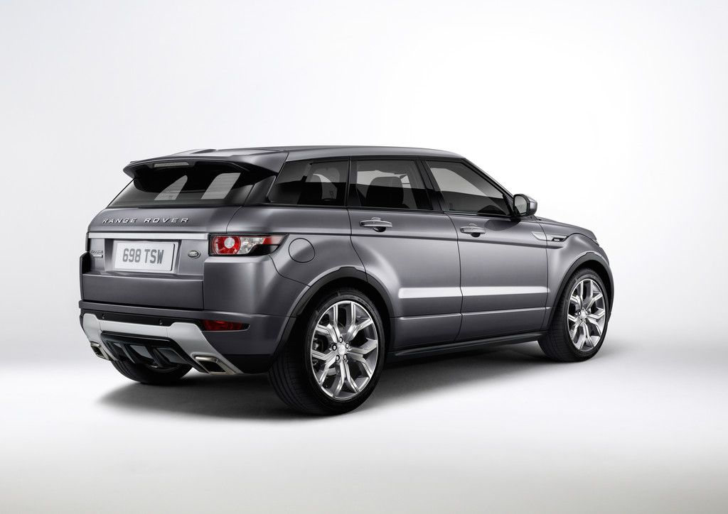 Range Rover Evoque met nieuwe 2,0-liter benzine gekoppeld aan 9-versnellingsbak