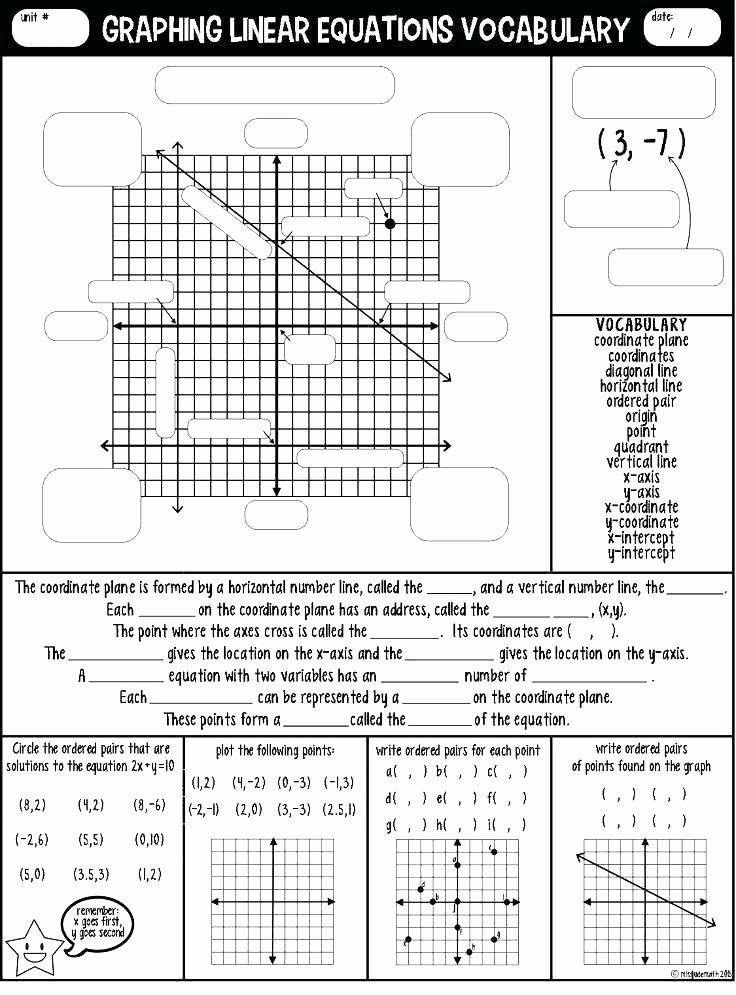 Interpreting Graphs Of Functions Worksheet - worksheet