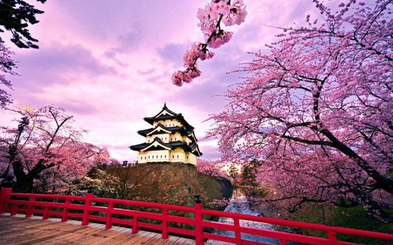 Top 10 Spots That Will Make You Fall In Love With Cherry Blossom Japan Beautiful Backgrounds Scenery Wallpaper