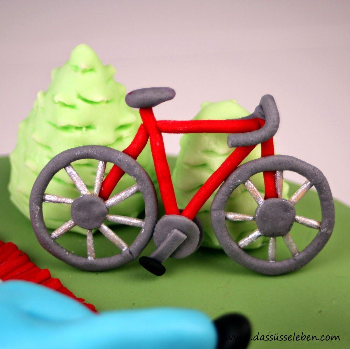 Rezept Geburtstagstorte mit Fahrrad | Das süße Leben http://www ...