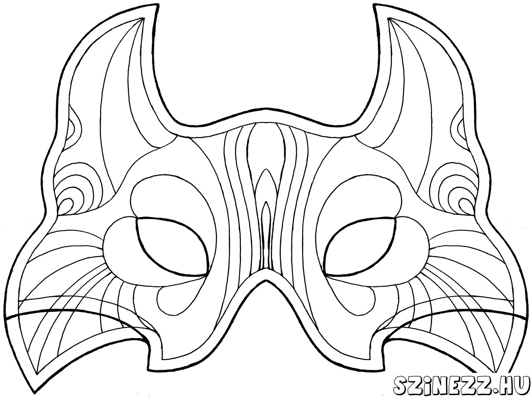Uncategorized Printable Carnival Masks farsangi farsang cirkusz carnival coloring mask free online printable pages sheets for kids get the latest co