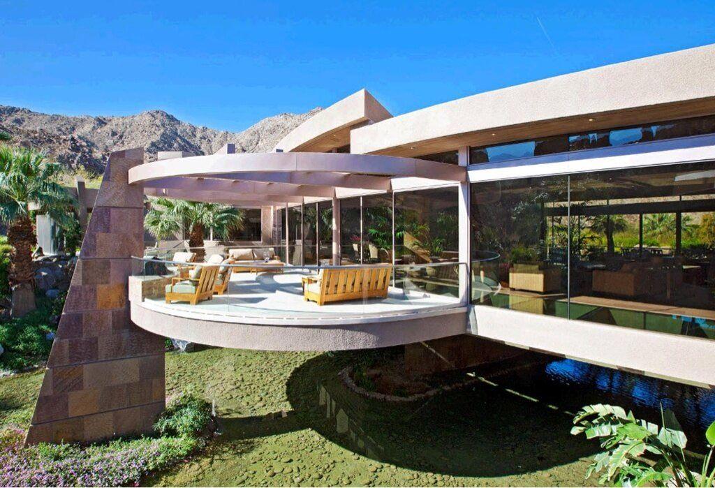 4 million dollar arizona mountainside mansion dream for Modern million dollar homes