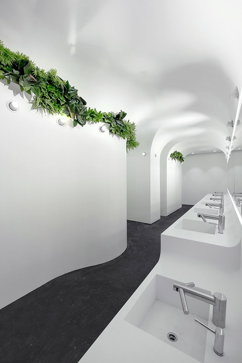 ida & billy design sustainable washrooms for mix-use complex in ...
