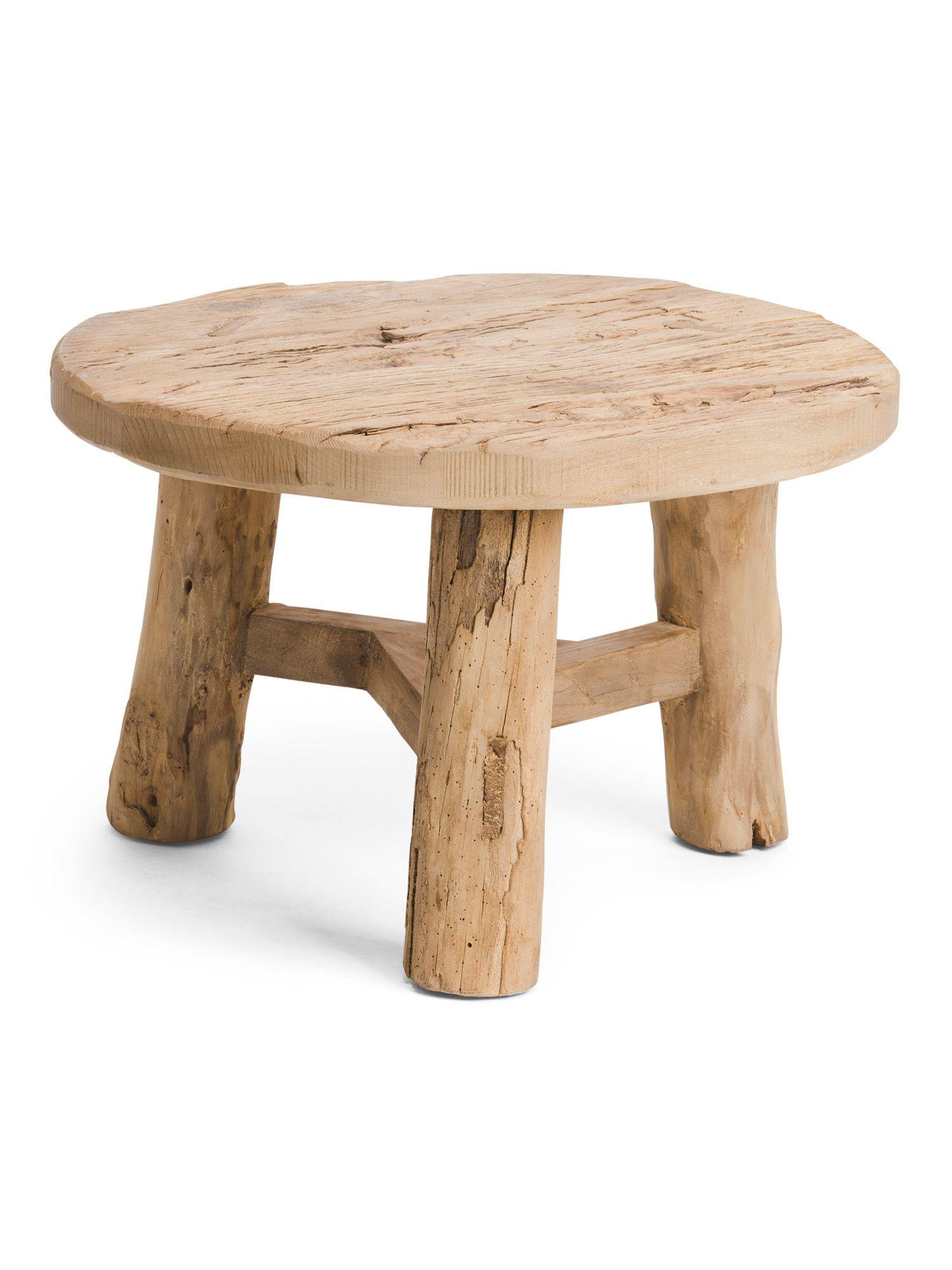 Reclaimed pine coffee table home tjmaxx pine