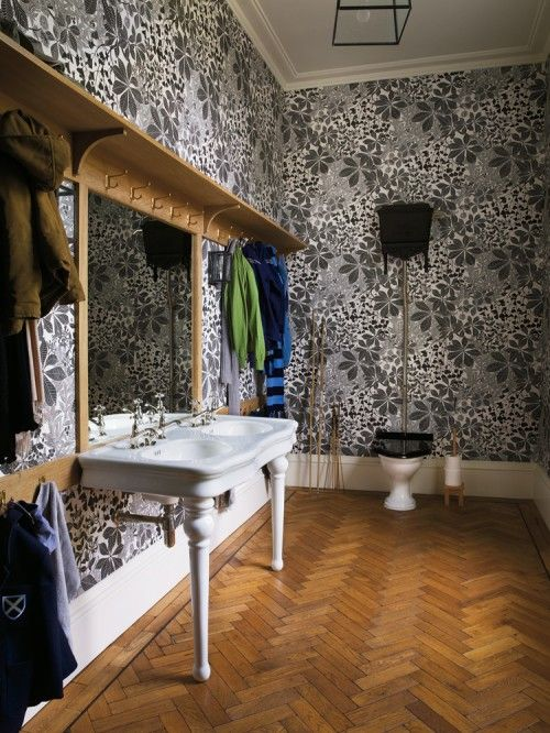more fabulous wallpaper In every dream home Pinterest