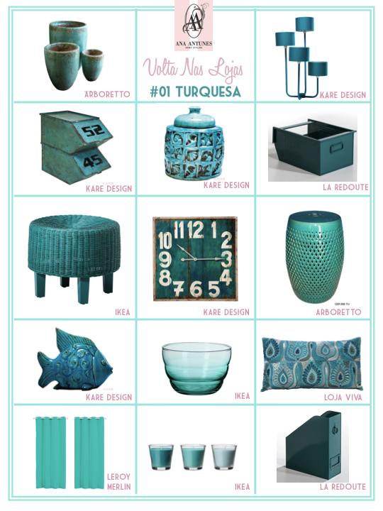 Turquoise Loja Viva Ideias Inspirador