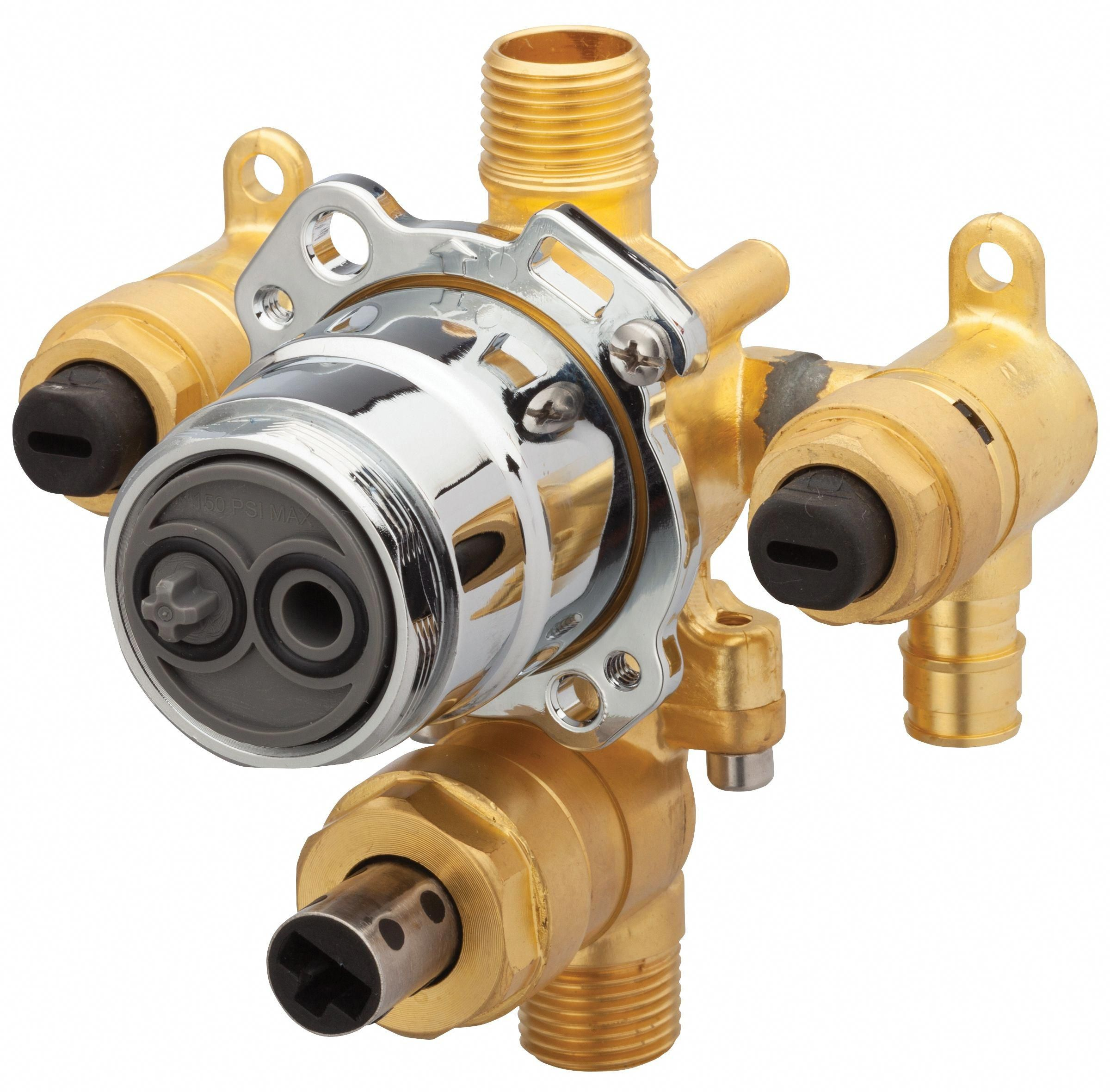 Gerber G00gs557s Treysta Tub Shower Valve Body With Diverter Cold Expansion Pex And Stops Pexpipethefamilyhandyman Shower Valve Shower Tub Shower Diverter