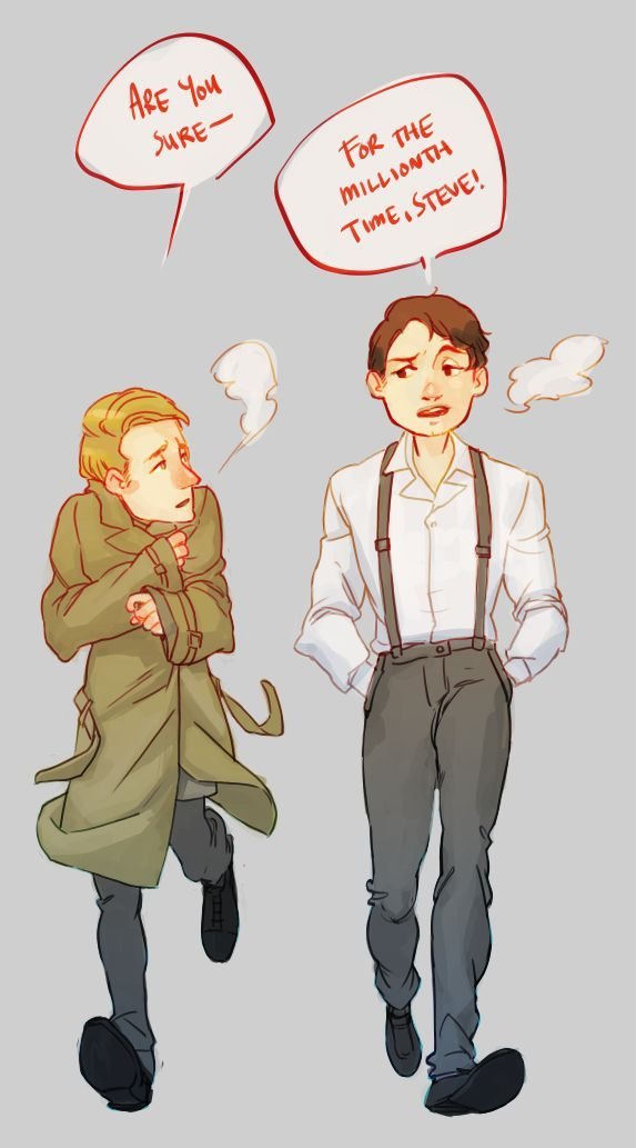 Young Pre Serum Steve And Young Bucky Marvel Marvel