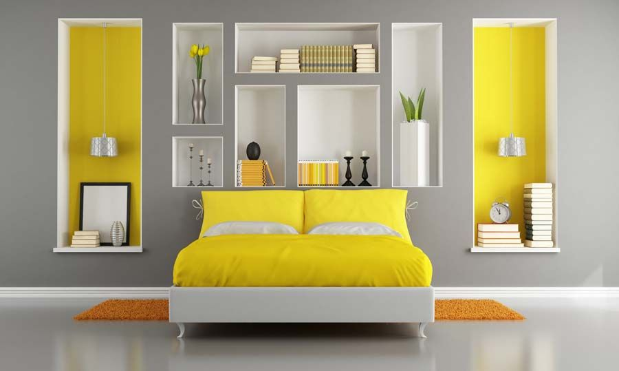 Yellow Bedroom Yellow And White Bedroom Ideas With Beautiful. Grey and yellow room