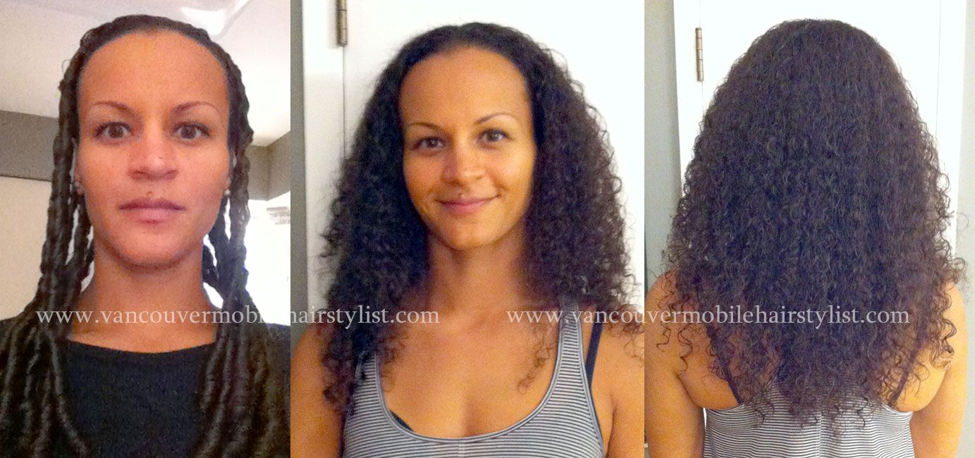 My Trademark Curly Haircut As A Hair Makeover On Mixed Race