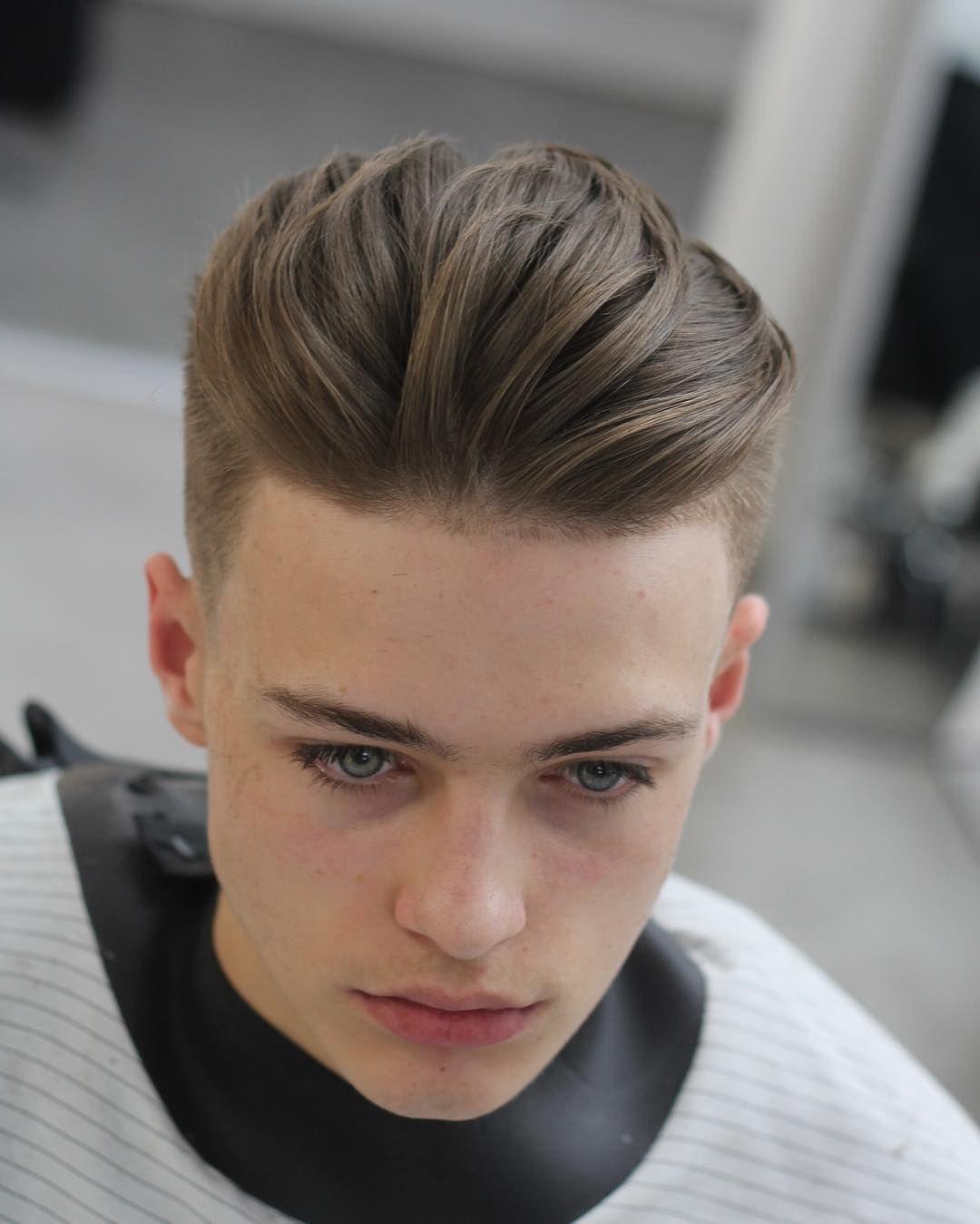 medium length hairstyles for men trends amazing bangs