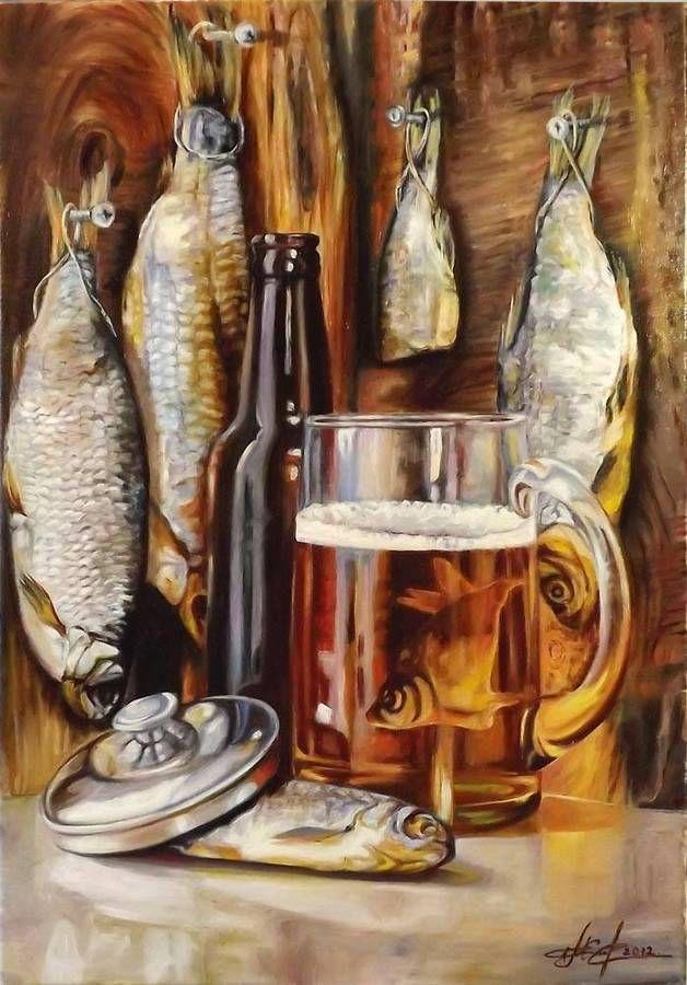 7) Натюрморты с раками.Подборка живописи | Мужские картины, Картины,  Натюрморт
