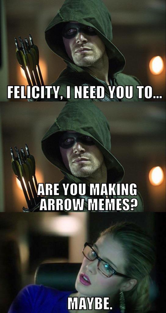 Penny on in 2019   Olicity   Arrow memes, Arrow funny ...