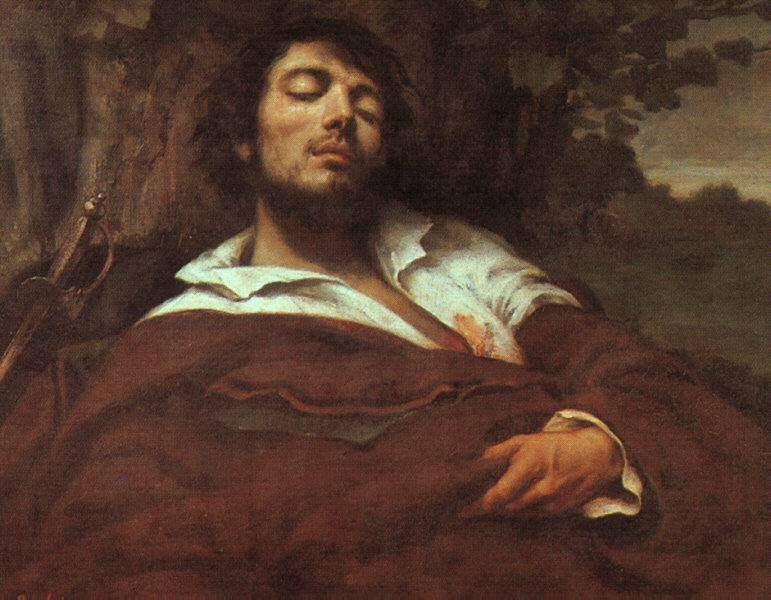 Gustave Courbet - The Wounded Man, 1844-54