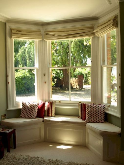 30 Coolest Bay Windows Ideas Simple Elegant Look Fafifu Window Seat Design Bay Window Living Room Bay Window Seat