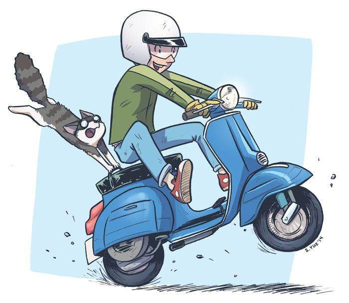 Stephanie Yue Minky Final Web Jpg 700 608 Kartun Gambar Karakter Sketsa