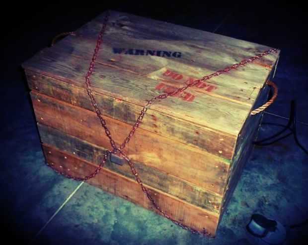 Monster In A Box Haunted House Halloween Prop Haunted House